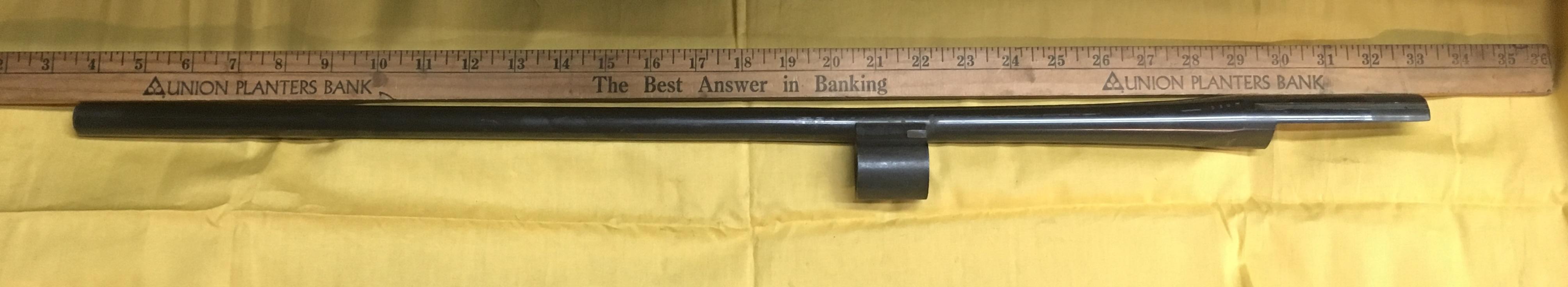 Restored Shot Gun Barrel -2013 004